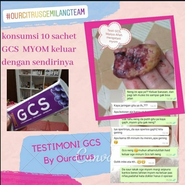 miom sembuh dengan GCS ourcitrus