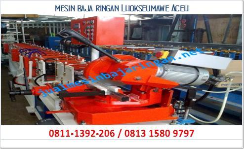 mesin baja ringan Lhokseumawe Aceh