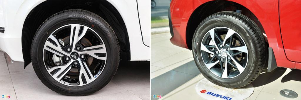 So sánh phiên bản nâng cấp của Mitsubishi Xpander và Suzuki Ertiga