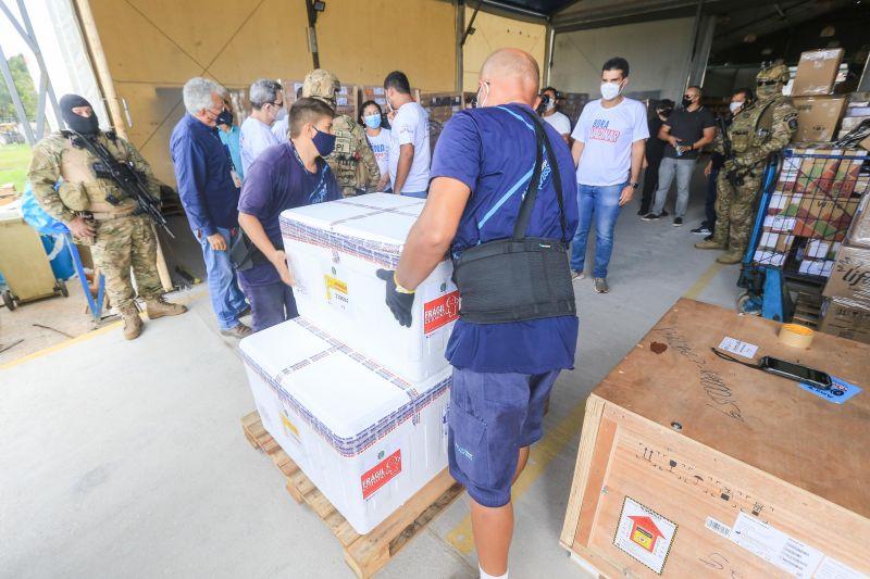 Vacina de Oxford chega ao Pará; as 49 mil doses serão priorizadas para Calha Norte