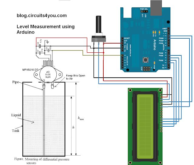Arduino Level measurement