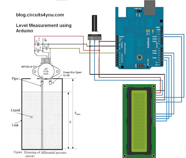 Arduino Level measurement