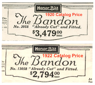 sears bandon price comparison