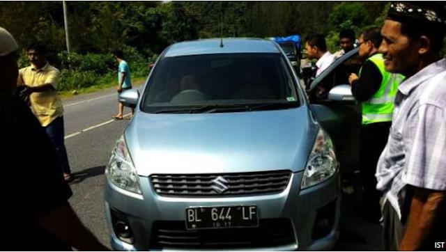 Marwan Majid Ditemukan Meninggal dalam Mobil