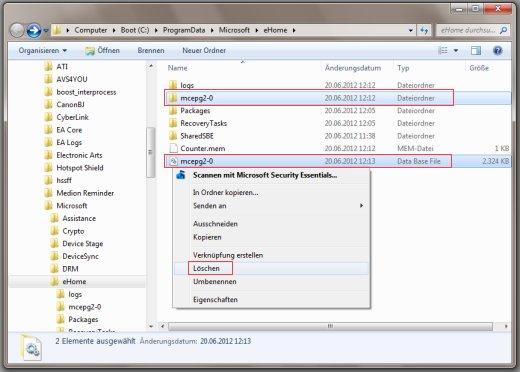 Microsoft media center guide
