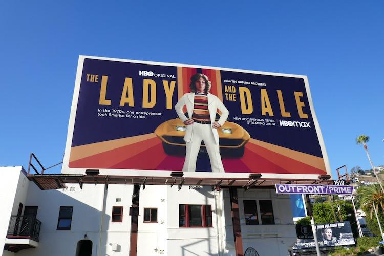 Lady and the Dale docu-series billboard