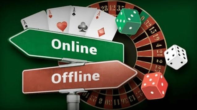 differences running online vs offline casinos