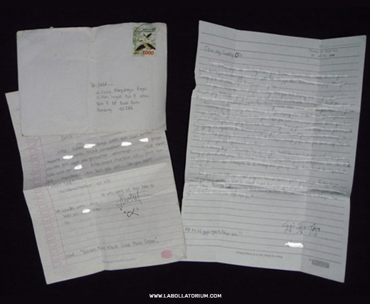 Surat Cinta Monyet - Blast From The Past - Postal Stuffs Filateli