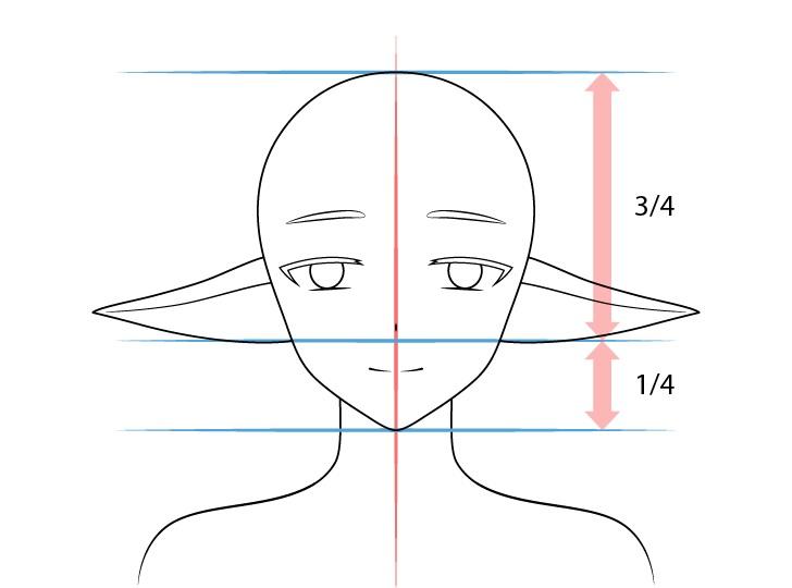 Anime menurunkan gambar telinga elf