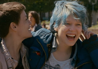 Léa Seydoux as Emma in Blue is the Warmest Color, Directed by Abdellatif Kechiche