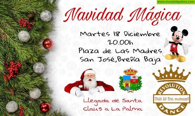 """BREÑA BAJA NAVIDAD: """"Navidad Mágica"""" con Revolution Dance"""