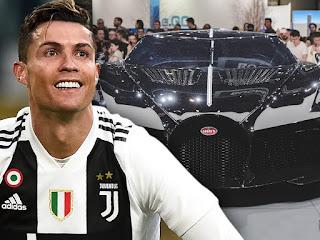 Ronaldo's midnight cars