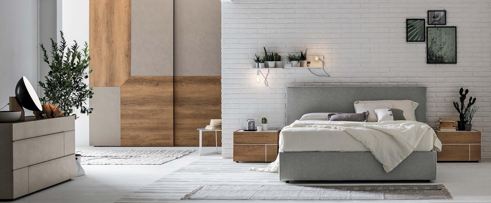 Camera da letto moderna Tomasella