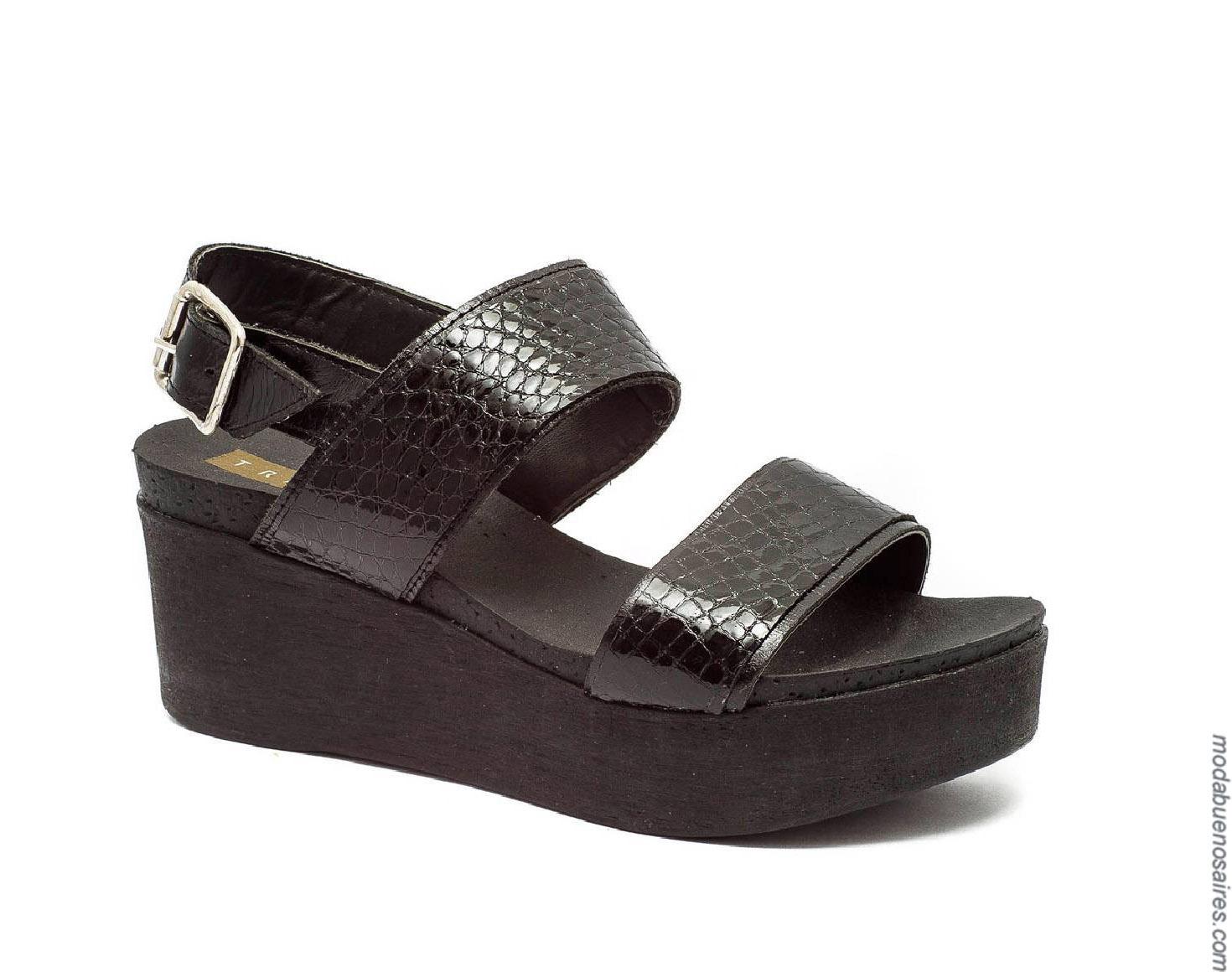 Moda sandalias primavera verano 2020.