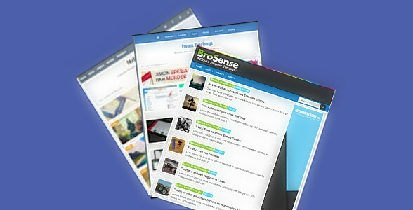 Tổng hợp các Template mini blogger  load nhanh cho các chế chơi Adsense