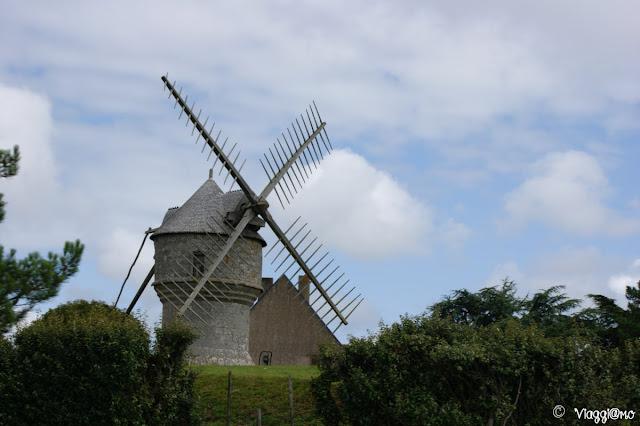 Il Mulino di Cremeur a Guérande rappresenta uno dei tipici Mulini a vento Bretoni