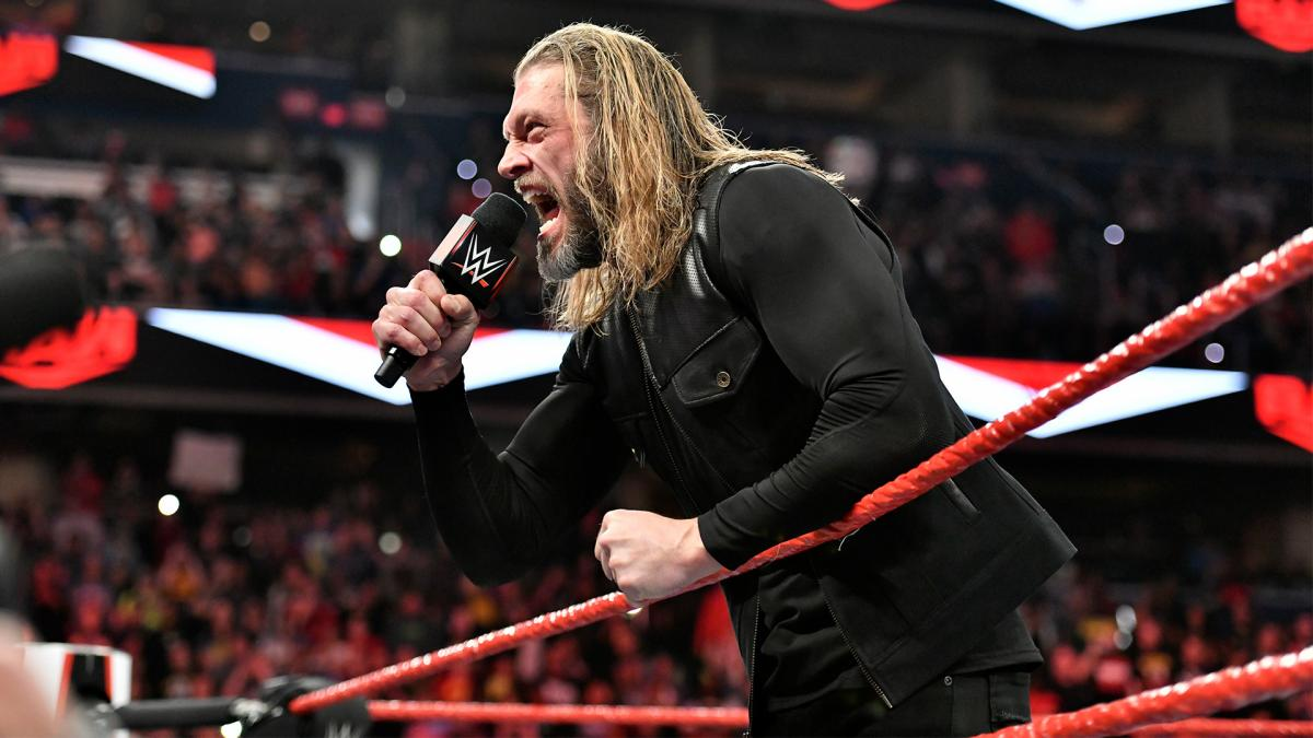 Revelado quem possivelmente teve a ideia de Edge vencer o Royal Rumble