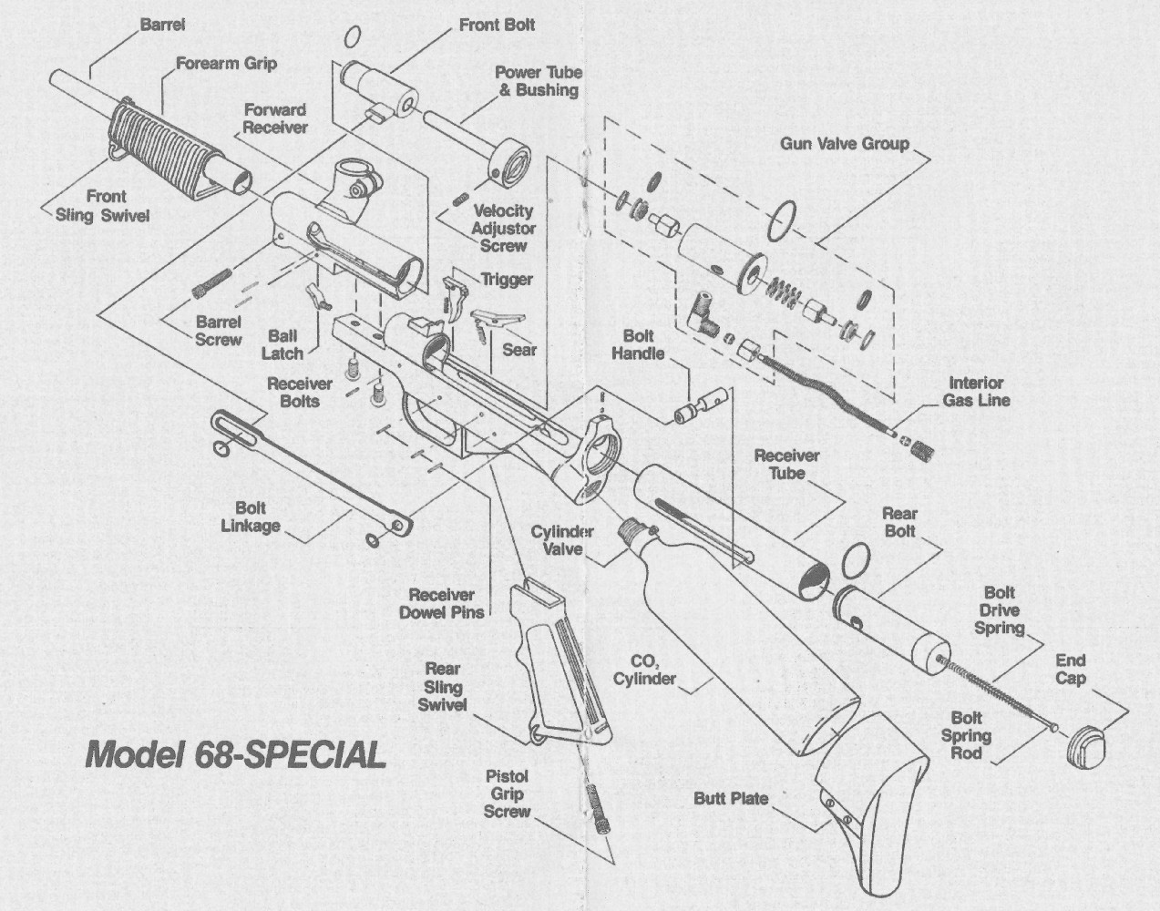 Tippmann Parts Diagram Trusted Wiring Diagrams Model 98 Schematic The 68 Special From Pneumatics Inc April 2013 Mods