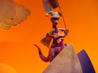 Figment Mountain Climber Journey Into Imagination Epcot