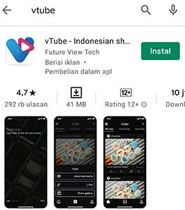 vtube app has new version artinya