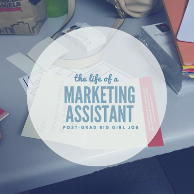 Lifestyle | Life of a Marketing Assistant