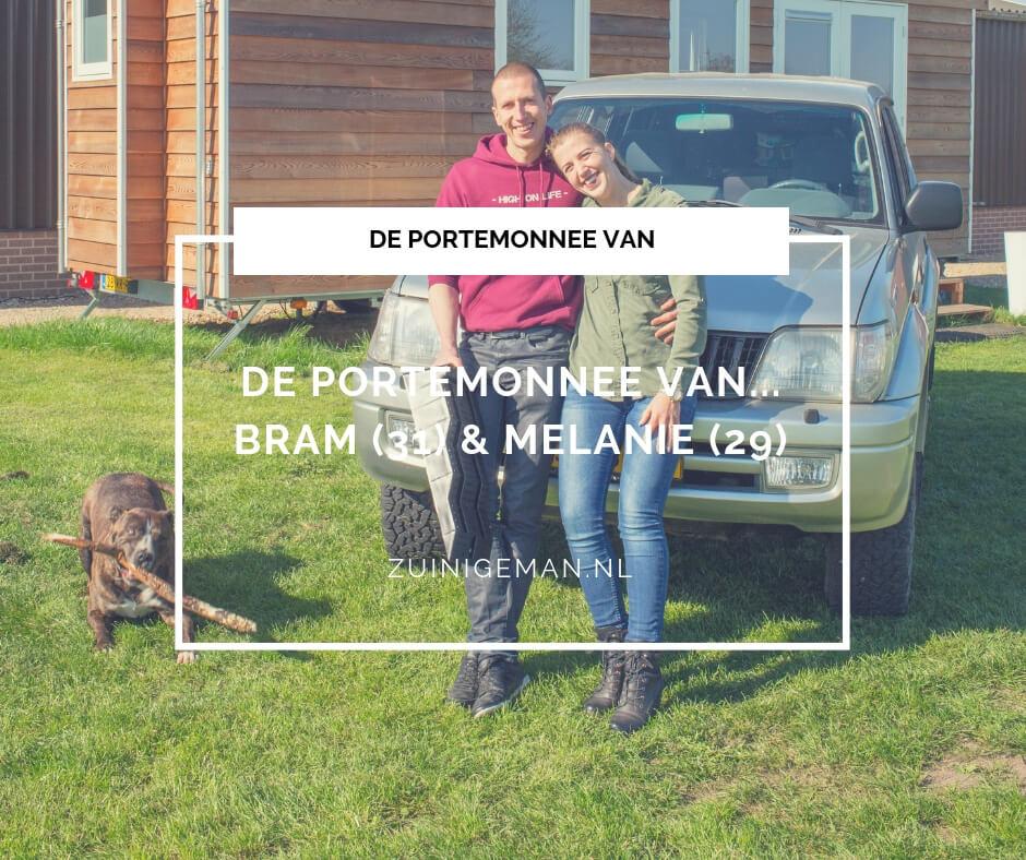 De portemonnee van Bram en Melanie Verheijen