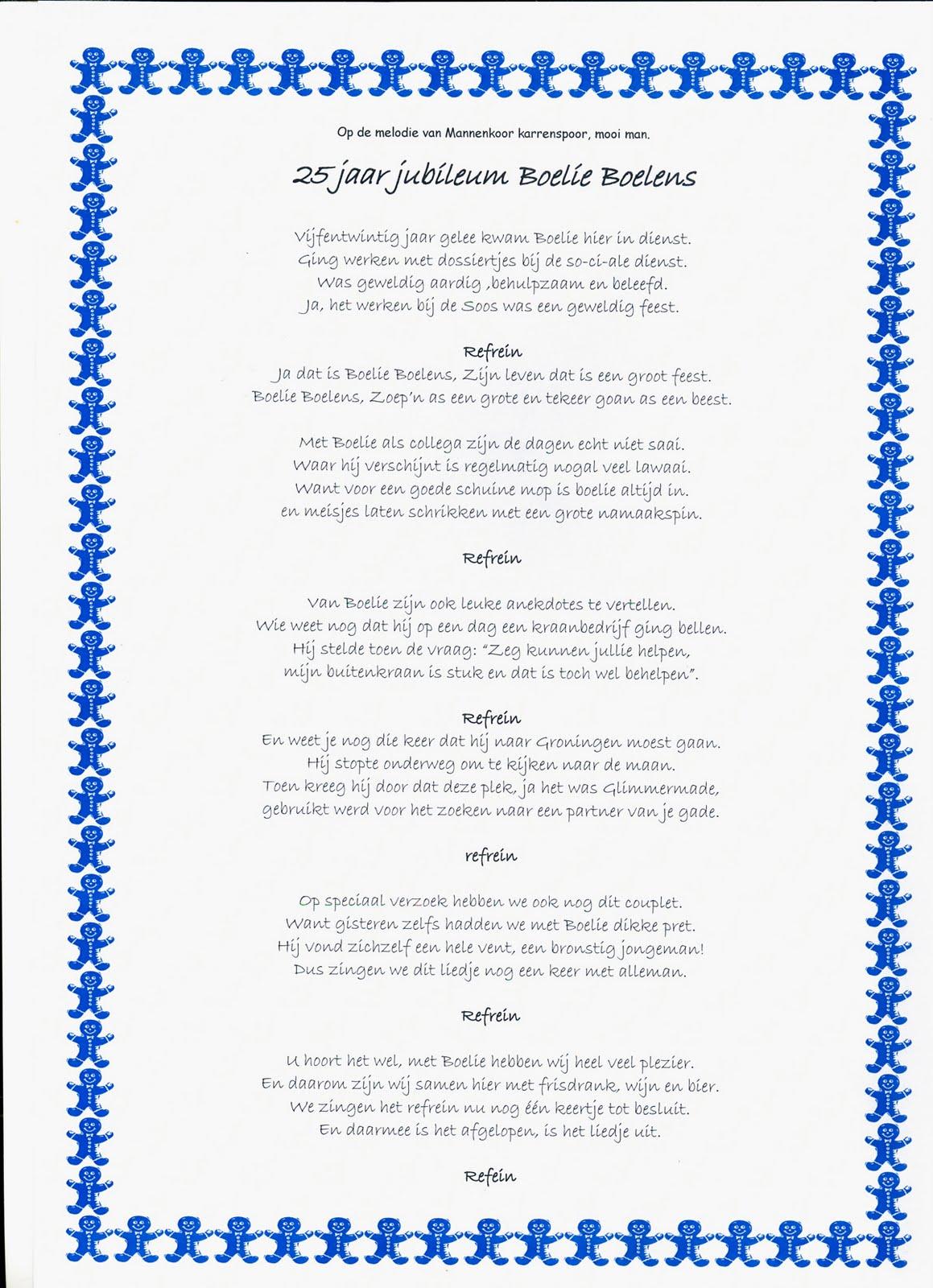 lied 40 jarig huwelijksfeest Gedichtje 40 Jaar In Dienst   ARCHIDEV lied 40 jarig huwelijksfeest
