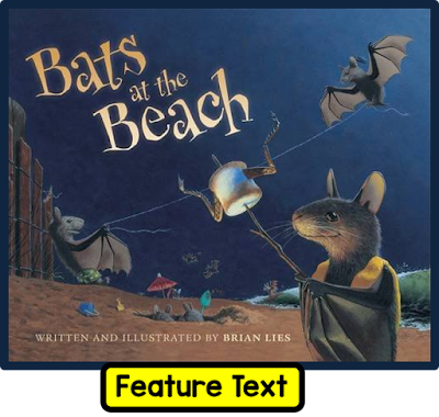 Bats at the Beach is a great rhyming book. In this blog post, it is used as a mentor text. A free resource is shared to go with the lesson.