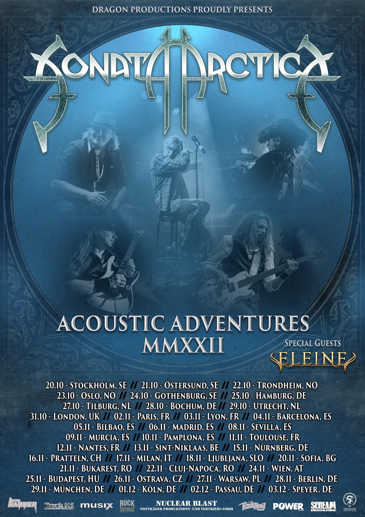 sonata arctica acoustic adventures