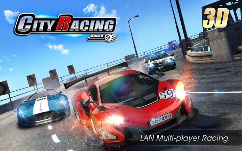 تحميل لعبة سيارات سباق جديدة City Racing 3d للكمبيوتر والموبايل
