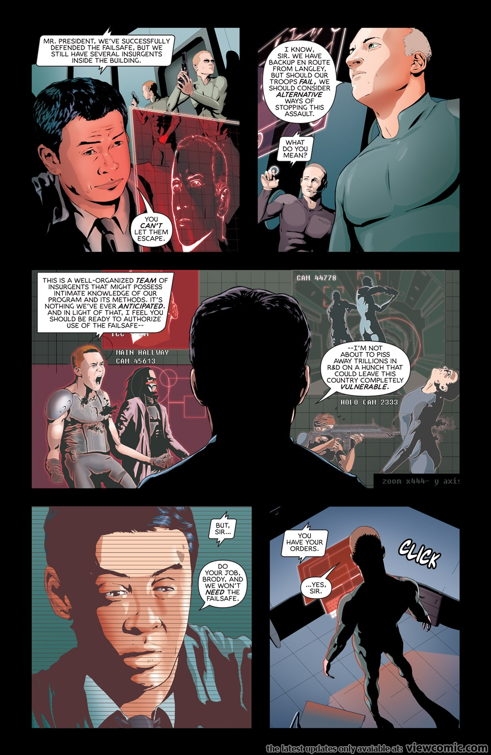 Failsafe 002 (2017) | Vietcomic.net reading comics online for free