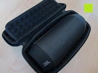 JBL: Tragbare Tragetasche Lycra EVA Spielraum-Speicher-Schutzhülle Box Bag für Bose Soundlink Mini and Soundlink mini Ⅱ Bluetooth Wireless Speaker-Black