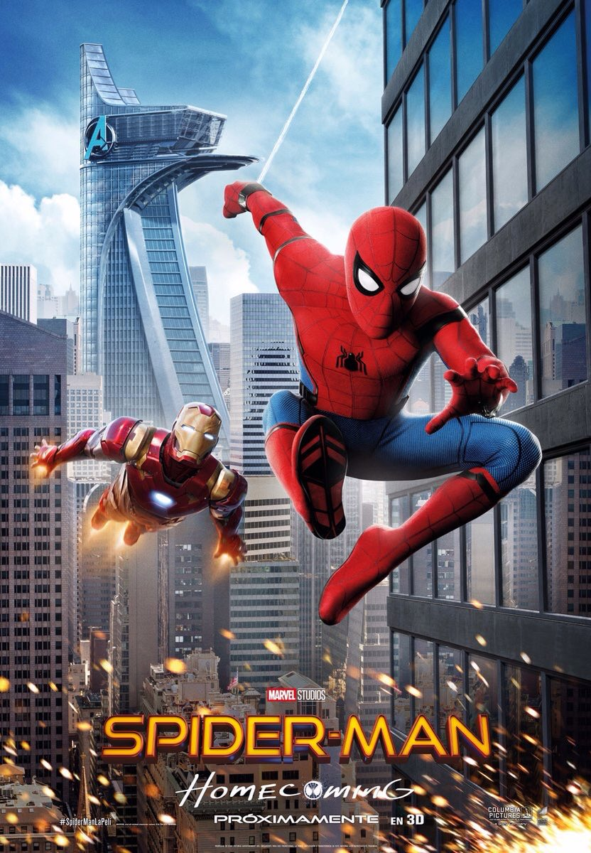 Spider-Man Homecoming Movie New Posters
