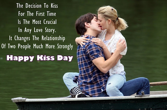 kiss day i love you
