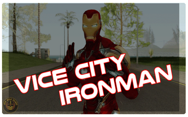 GTA Vice City Iron Man Mod With Powers PC
