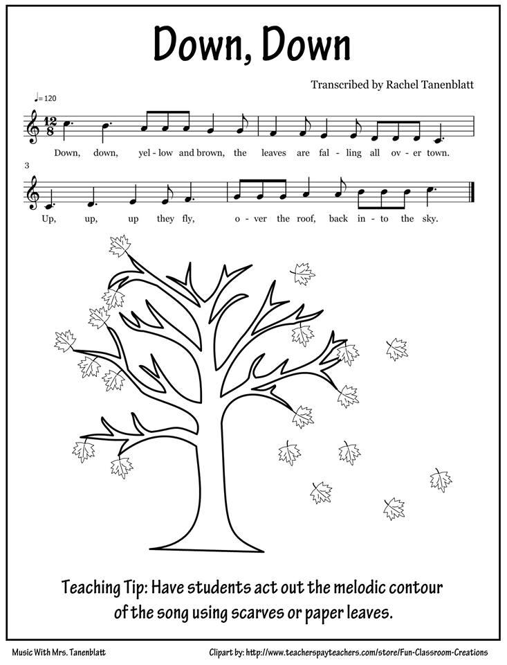 Favorite Fall Lessons! | Music With Mrs. Tanenblatt