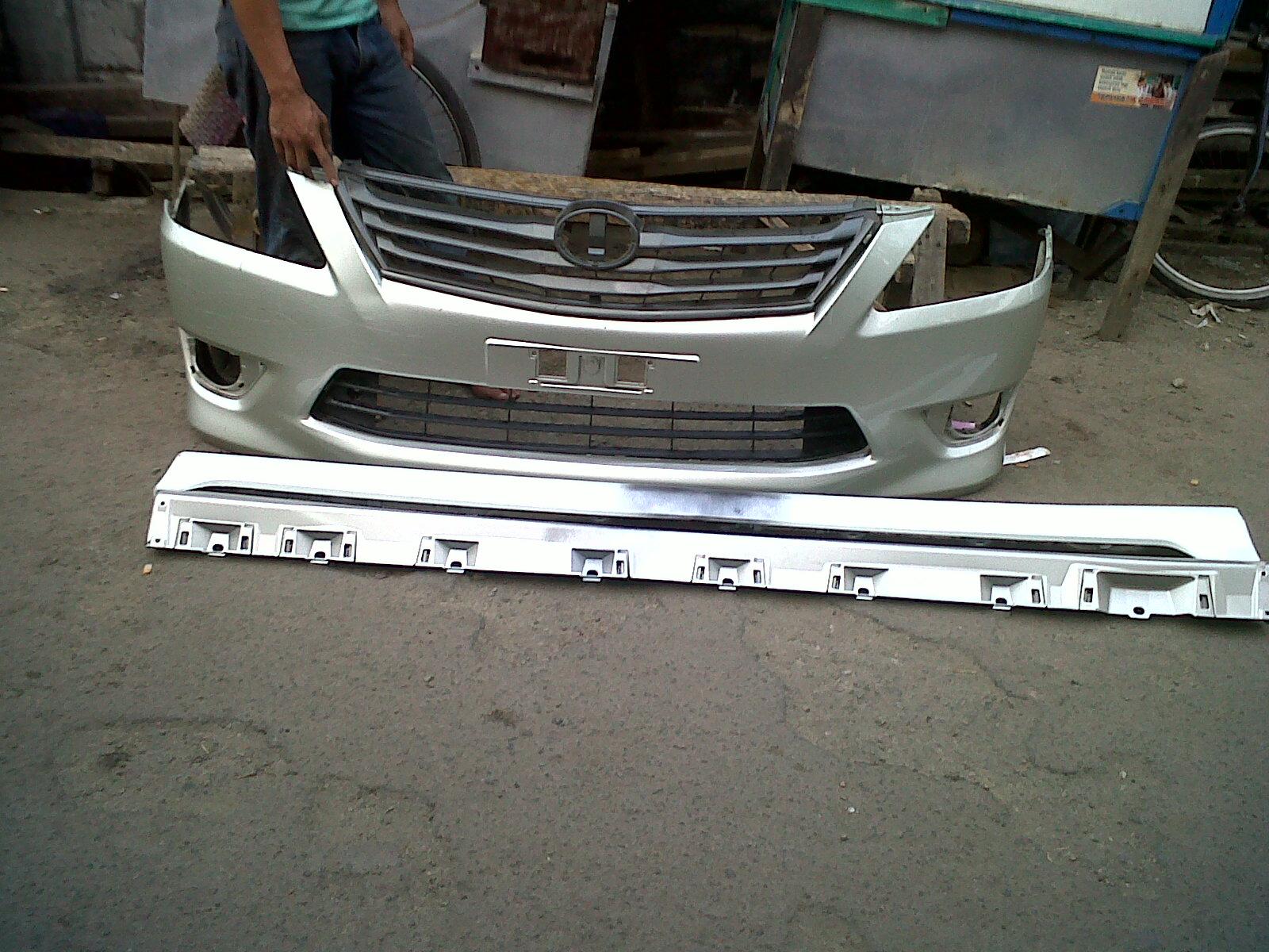 jual bodykit grand new avanza is the camry all wheel drive taruna motor 78 bemper copotan toyota