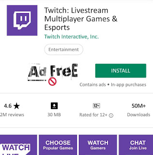 Twitch: Livestream Multiplayer Games & Esports {Ad-Free} v9.2.0