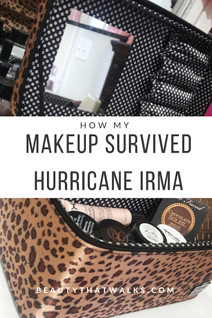 How my Makeup Survived Hurricane Irma