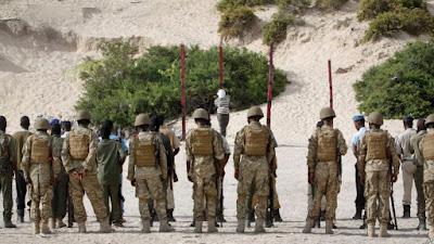 Firing squad execution in Somalia (file photo)