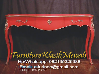 Furniture Meja konsul Jati Jepara-Furniture Klasik Mewah-jual Meja konsul Jati