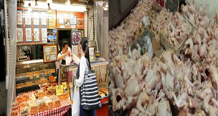 الصين تقوم بتصدير اكثر من نصف مليون طن من الفئران منزوعة العظام على انها صدور دجاج