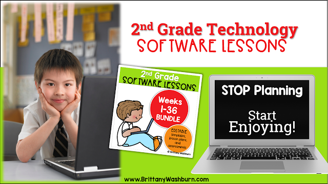 2nd Grade Software Lessons for the Computer Lab