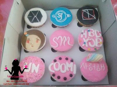 Harga cupcake murah dibawah 10000 di Sidoarjo dan Surabaya