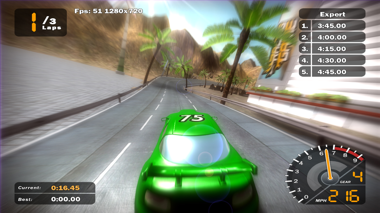 Cyclone Game Engine Development: 164  Racing Game