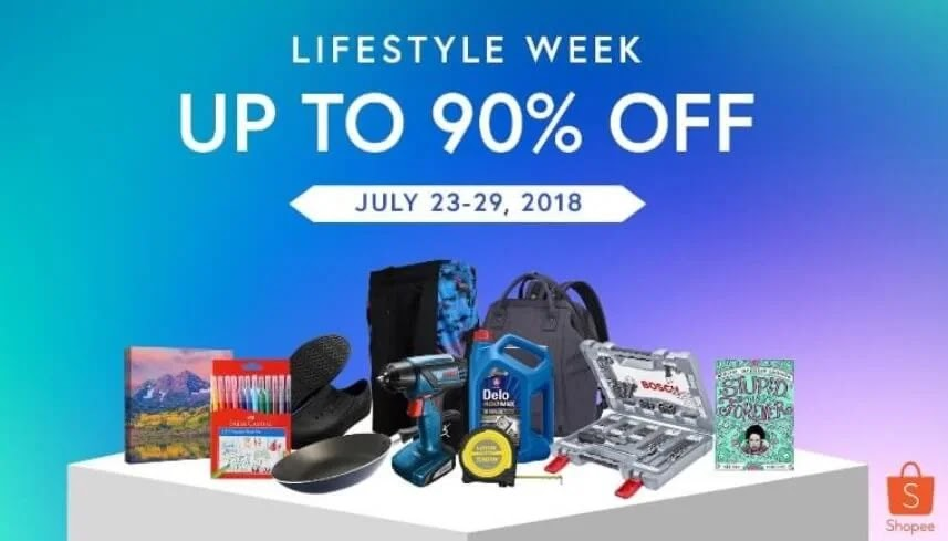 Here's What You Can Find at Shopee's Lifestyle Week