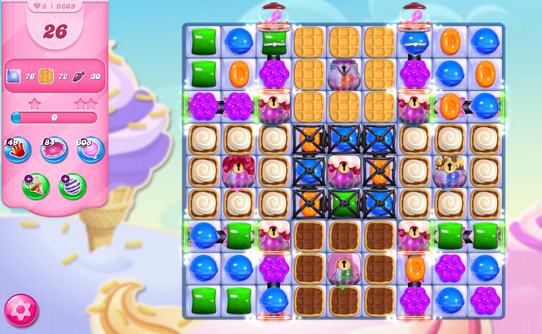 Candy Crush Saga level 6609