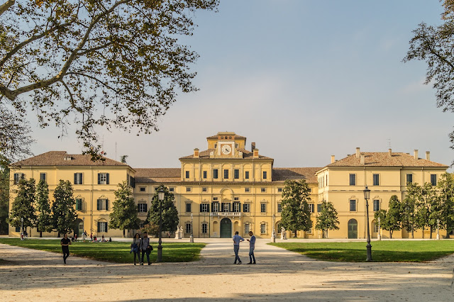 palazzo Ducale-giardino ducale-Parma