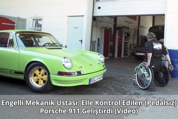 Manfred Huber Porsche 911