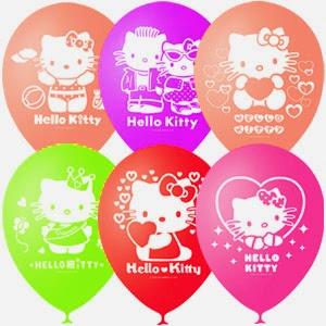 Воздушные шарики Hello Kitti
